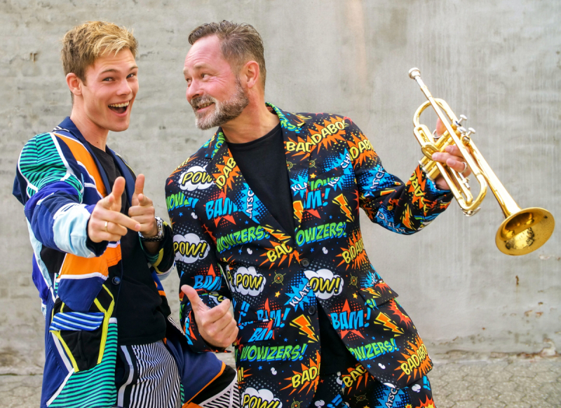 Mek Pek og Mikkel Rugholm